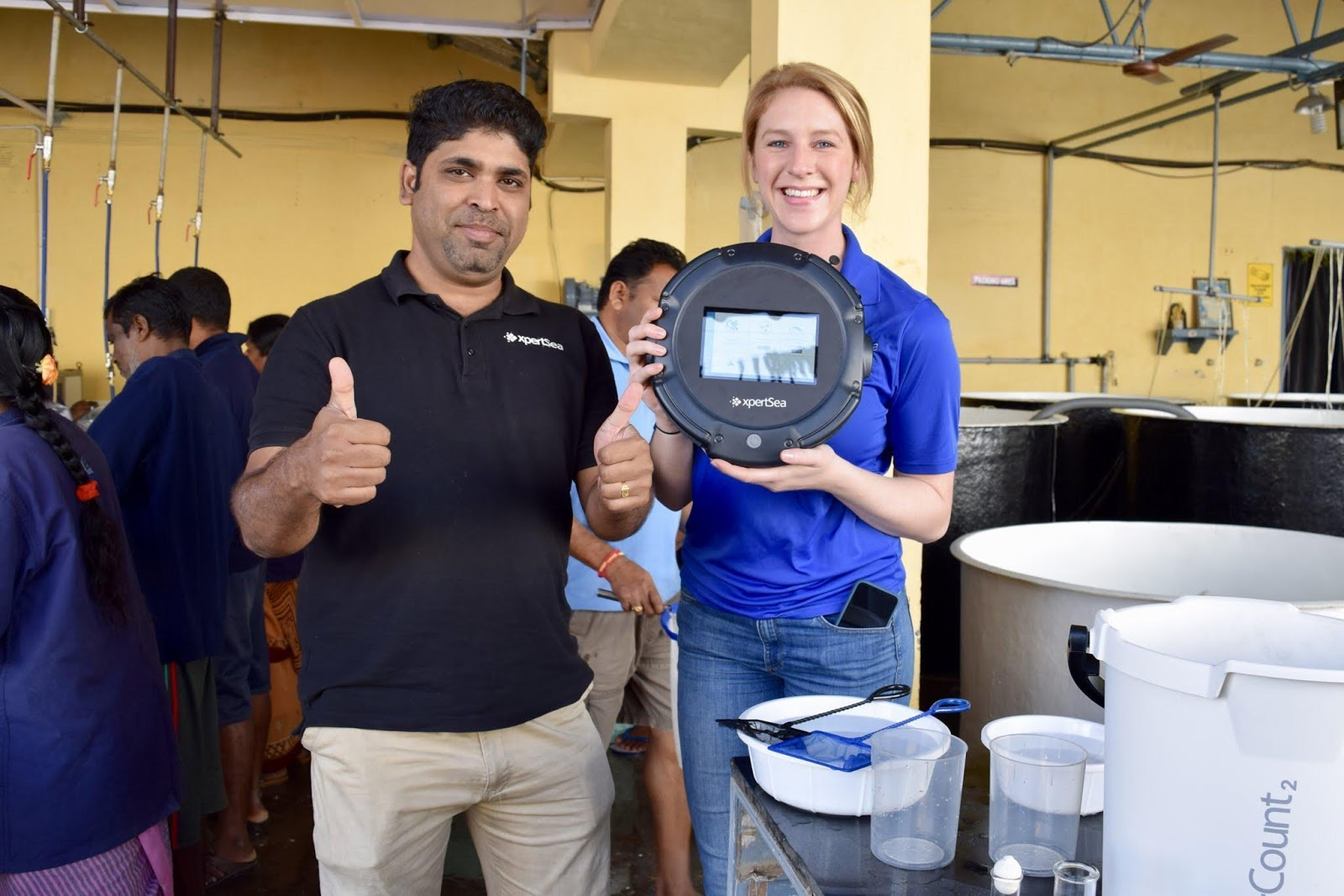 Canadian Company Brings New Technology to Shrimp Hatcheries in Bangladesh
