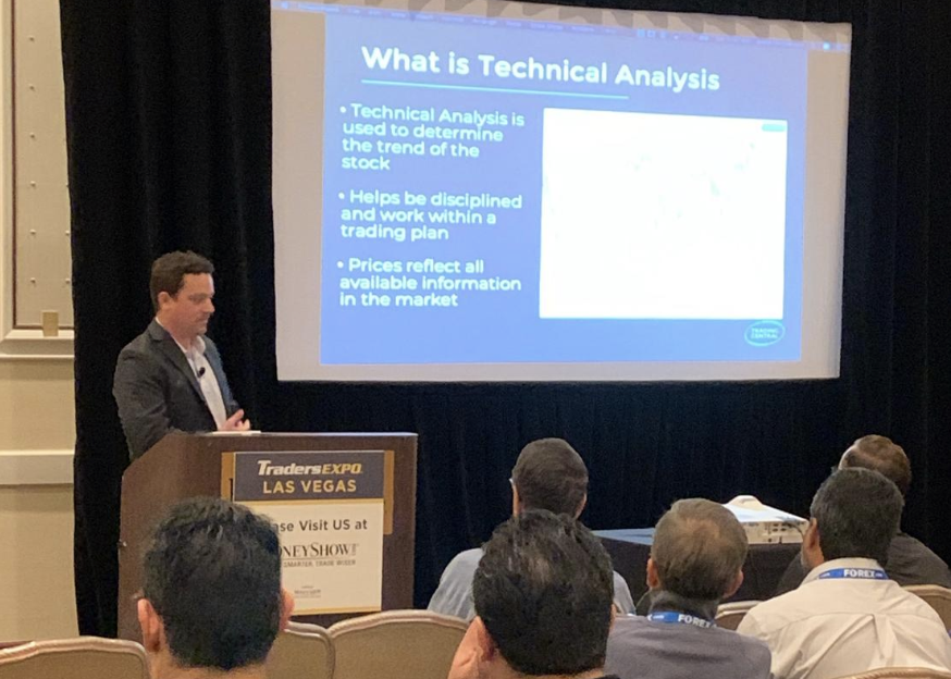 Head of North American Research Gary Christie presents at a global trade show the importance and how to use technical analysis