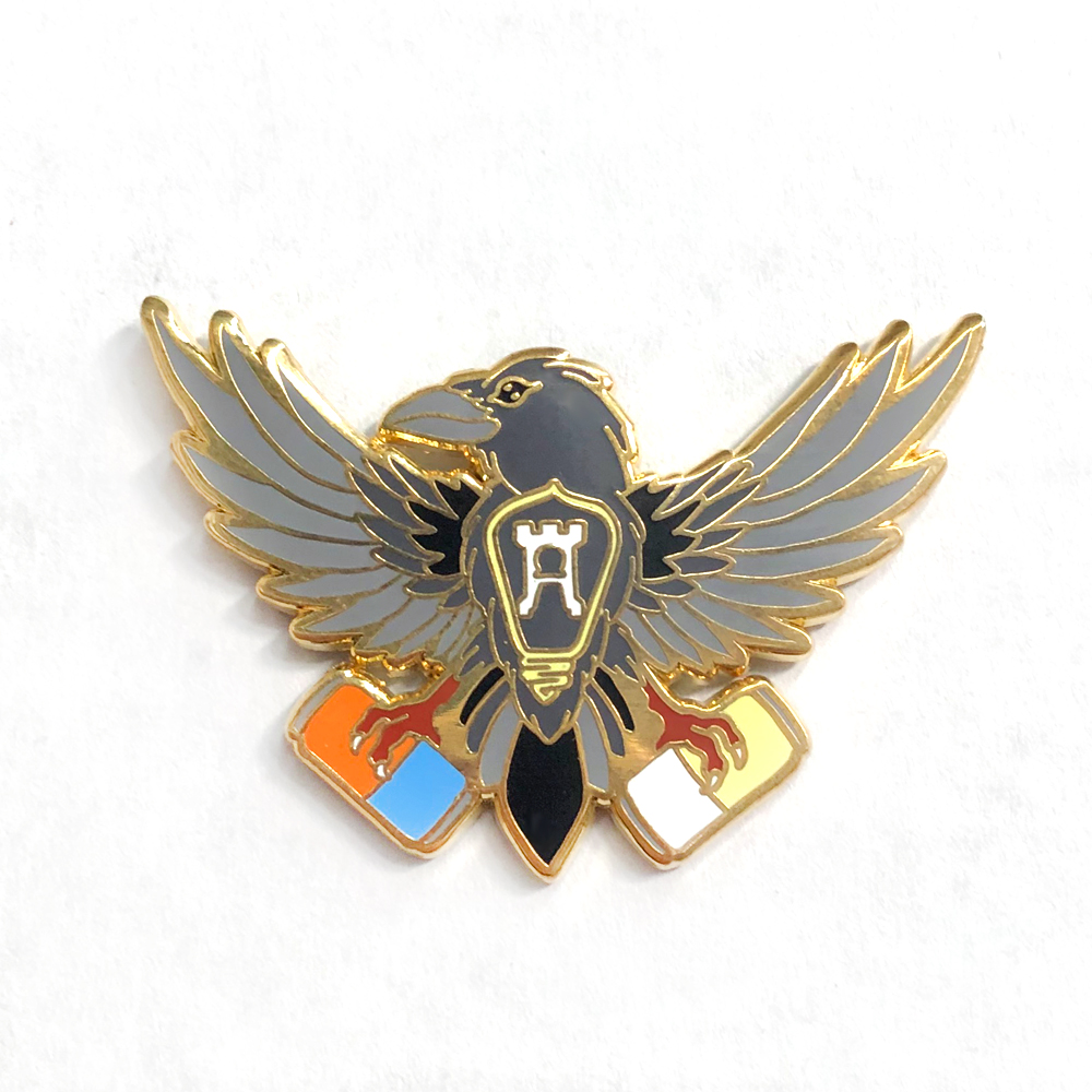 Click to view more hard enamel pins.
