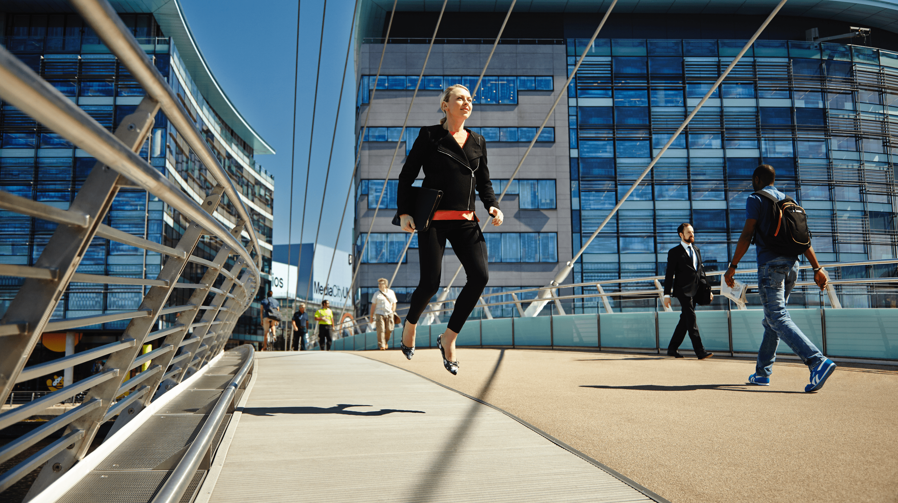 University of Salford - Postgraduate campaign and photoshoot