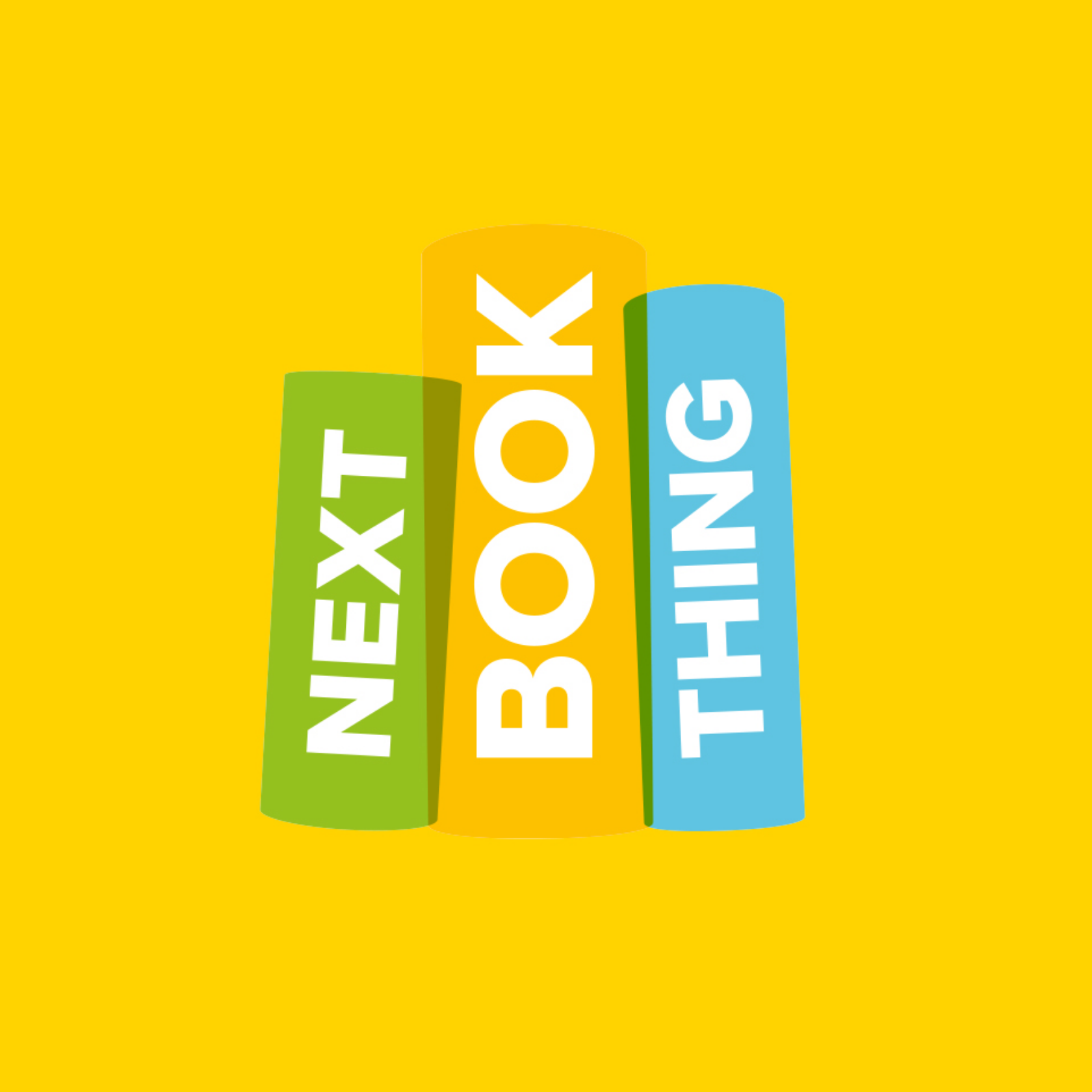 Next Book Thing - brand identity and web design