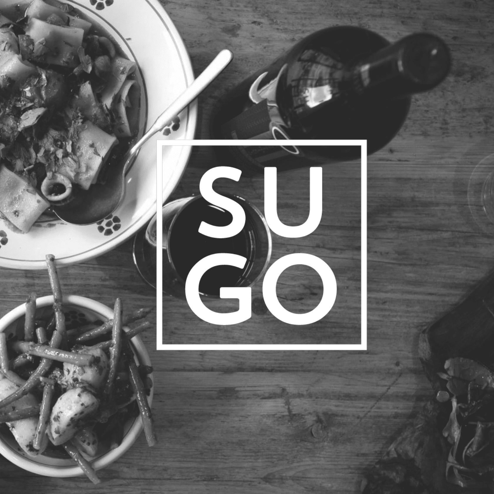 Sugo - branding identity and website design
