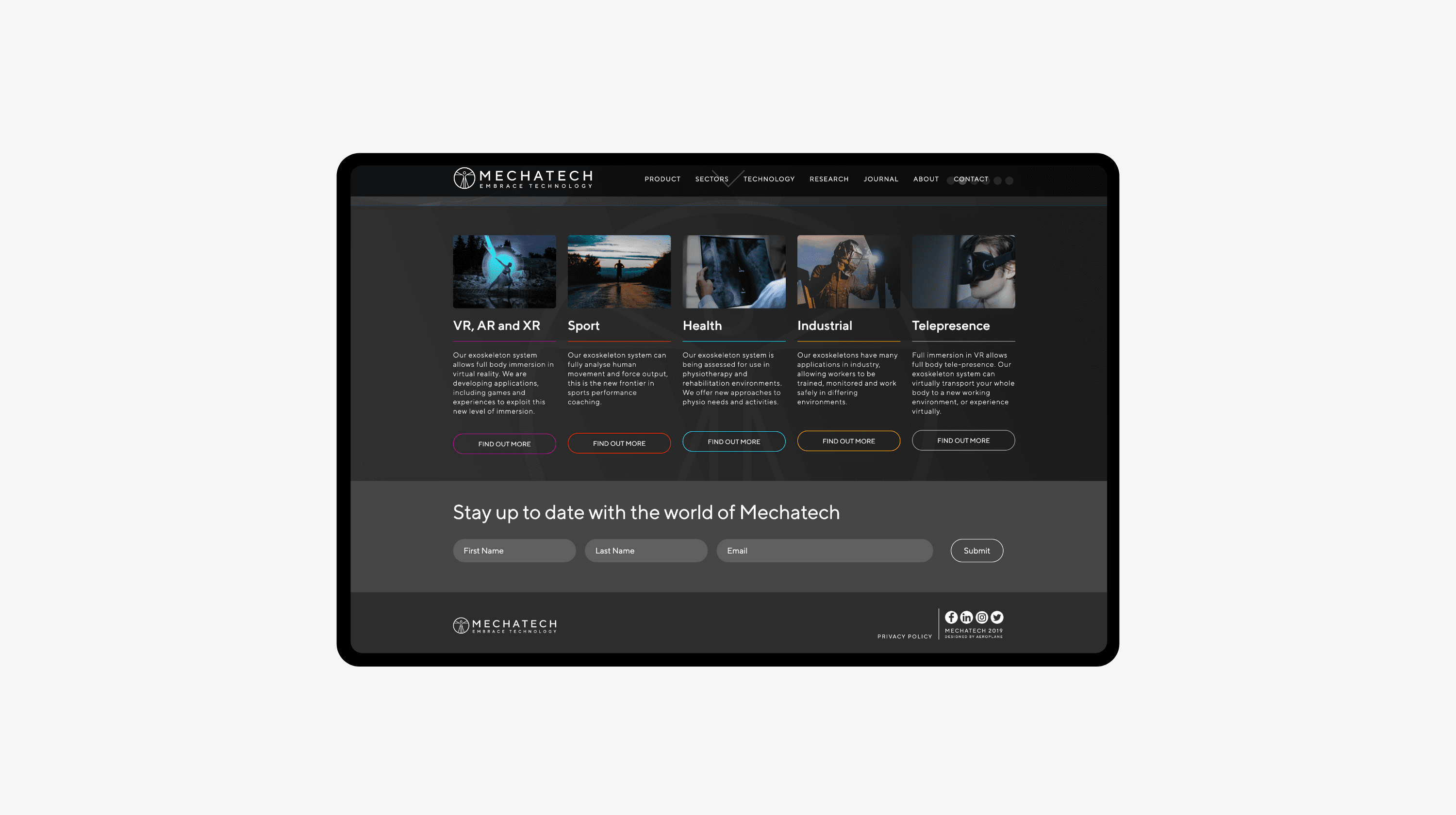 Home page / sectors