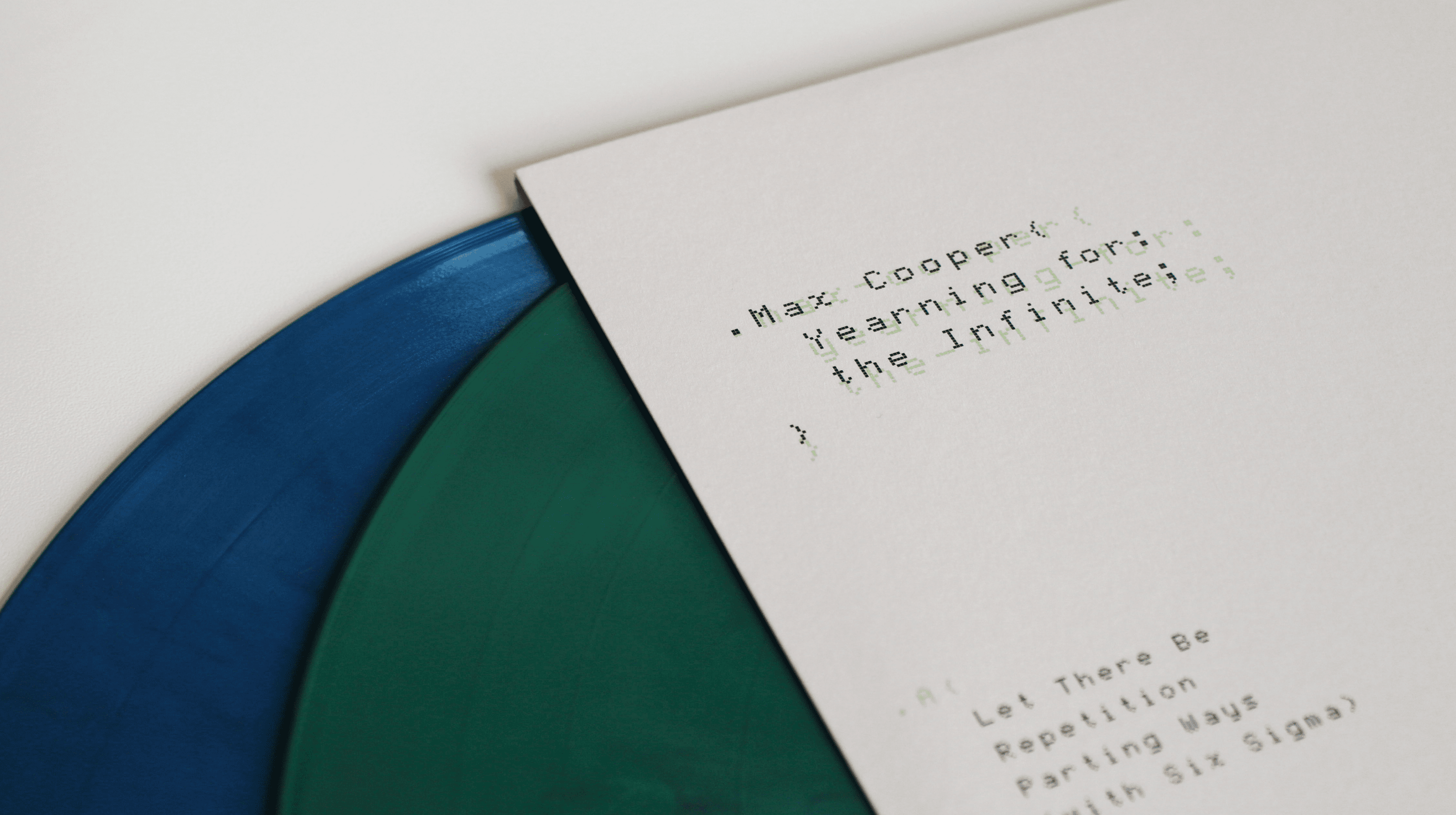 Max Cooper, Yearning for the Infinite