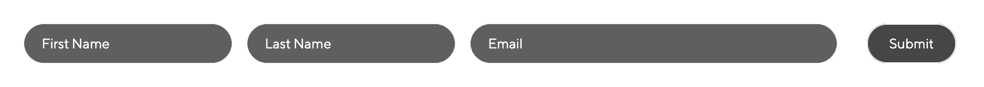 contact form fields