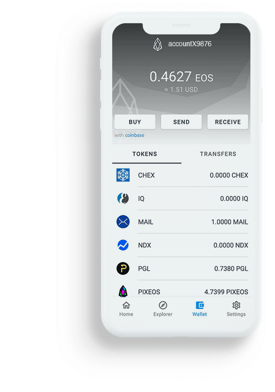 free eos wallet mobile phone