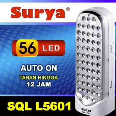lampu Emergency Surya SQL L5601