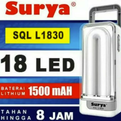 lampu Emergency Surya SQL L1830