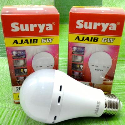 Lampu Emergency Otomatis Surya