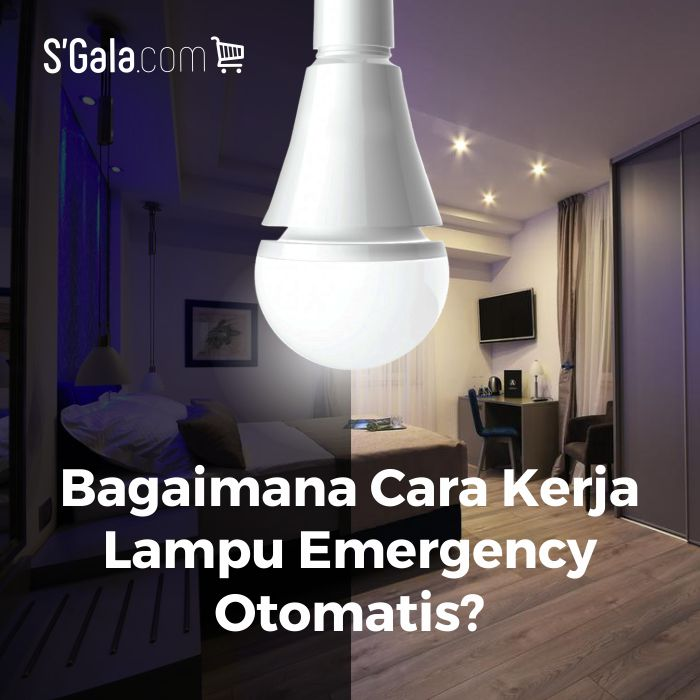 Lampu Led Emergency AC DC