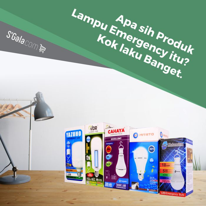 Cover artikel seputar lampu emergency