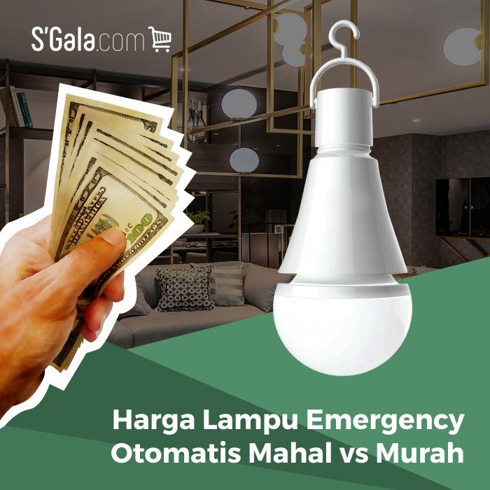harga lampu emergency