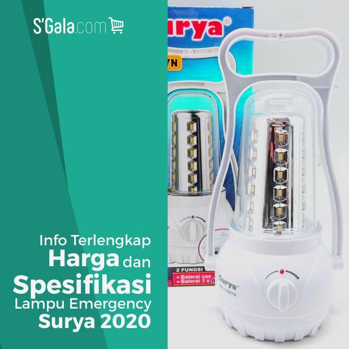 Lampu Emergency Surya