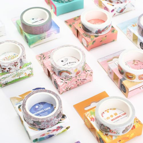 Masking tape pattern, washi tape