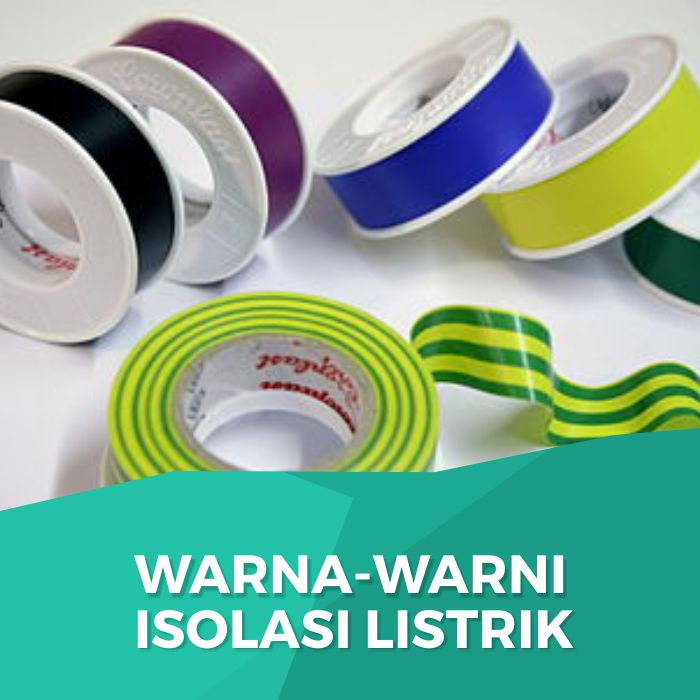 Colorful electrical tape