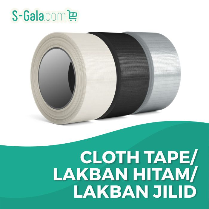 Lakban Kain/Cloth Tape/Lakban Hitam