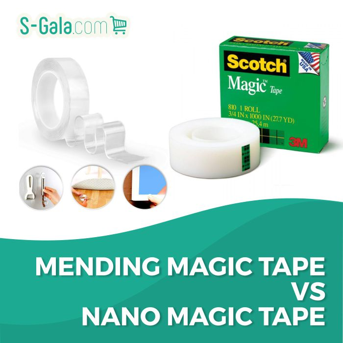 Mending & Nano Magic Tape