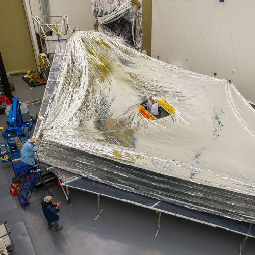 James Webb Telescope menggunakan kapton film