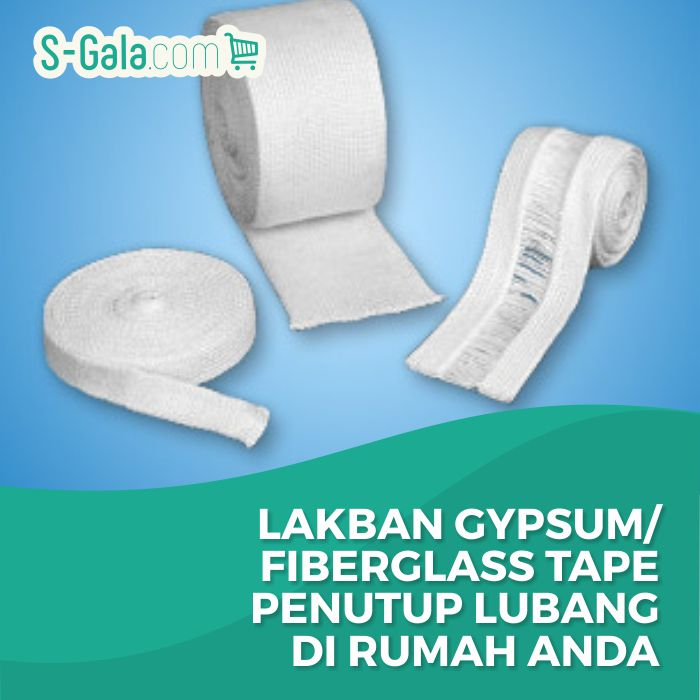 Lakban Gypsum / Fiberglass Tape