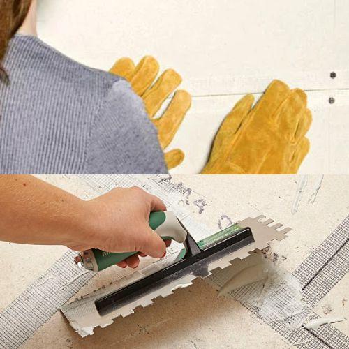 cara pasang fiberglass tape