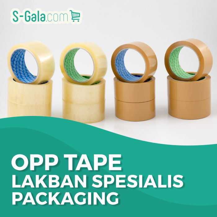 OPP Tape - Lakban Bening