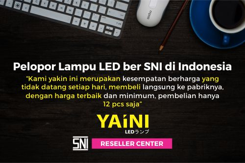 lampu LED YaIni ber-SNI
