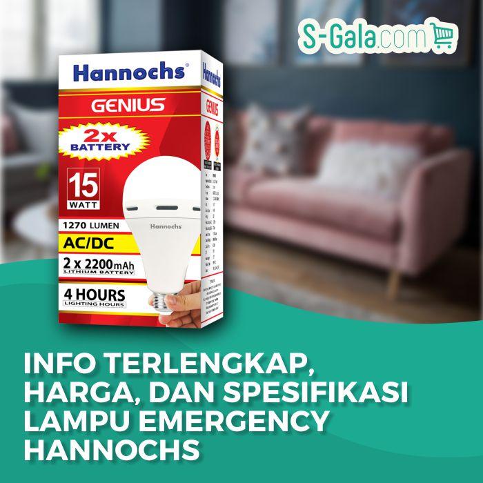 Lampu Emergency Hannochs