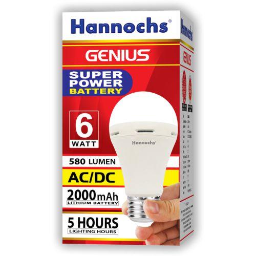 Lampu emergency hannochs 6w