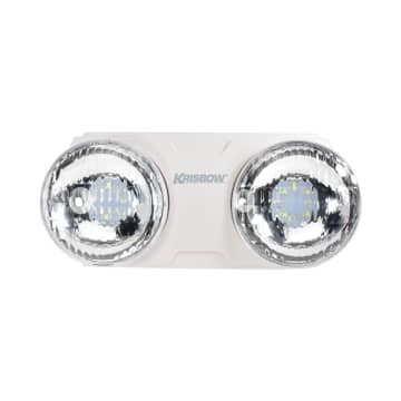 Lampu emergency krisbow twin spot 8W