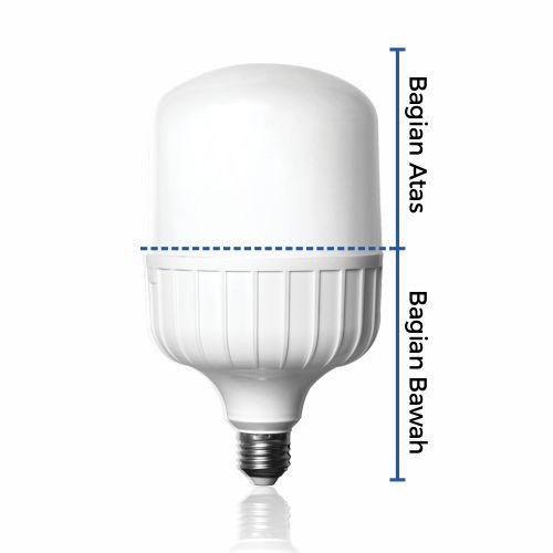 Cara membuka casing lampu emergency led bohlam