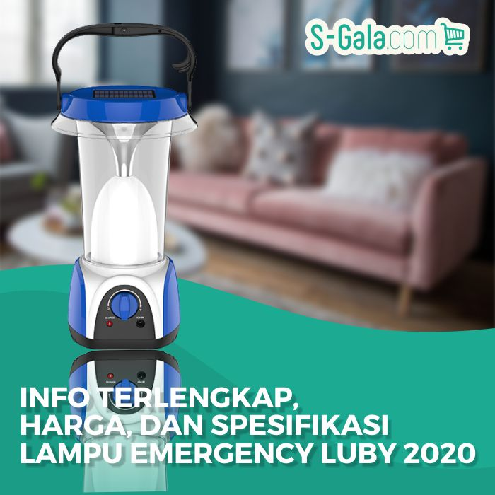 Lampu emergency luby