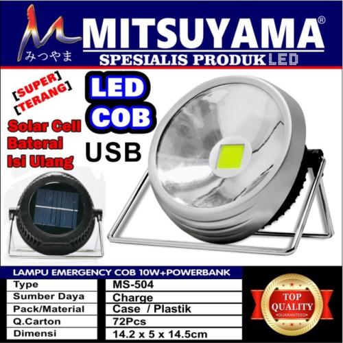 lampu emergency mitsuyama MS-504