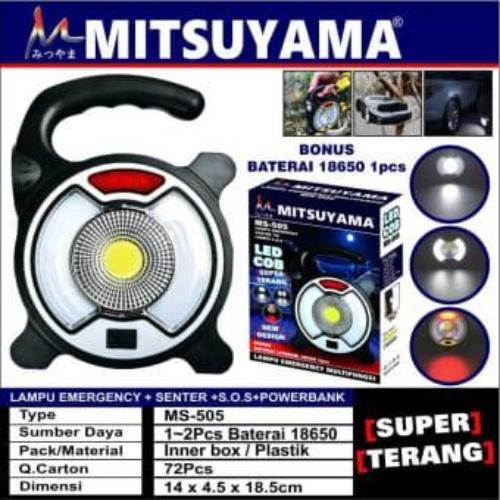 lampu emergency mitsuyama MS-505