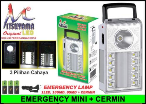lampu emergency mitsuyama MS-6022