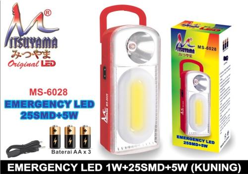 lampu mitsuyama MS-6028