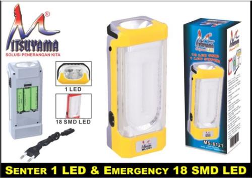 lampu emergency mitsuyama MS-6121