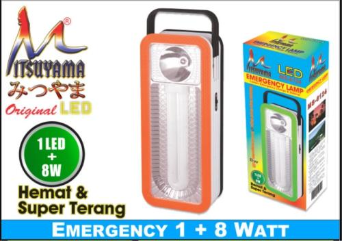 lampu emergency mitsuyama MS-6124