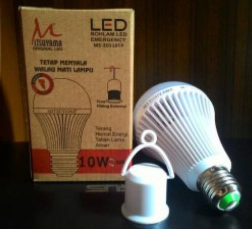 lampu emergency mitsuyama MS-E510TP
