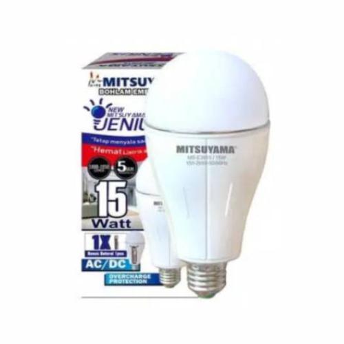 lampu emergency mitsuyama MS-E3915 15W