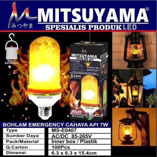 lampu emergency mitsuyama API MS-0407