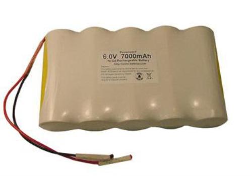 Baterai untuk lampu tipe nicad