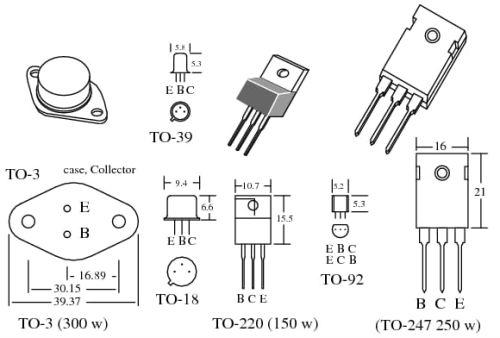 Macam-macam model transistor bipolar