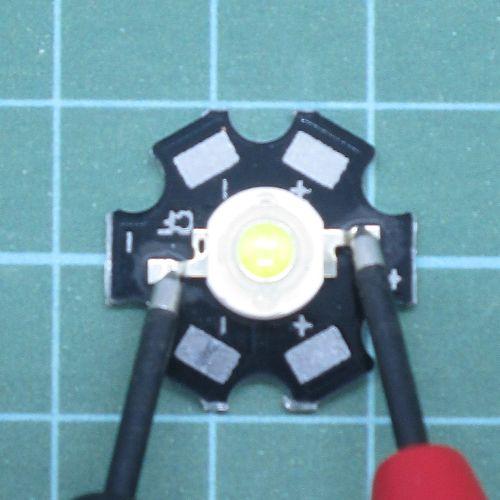 Cara mengukur chip LED