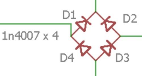 contoh simbol dioda