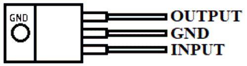 Diagram IC tipe LM2940-12V