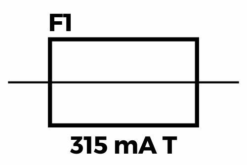 Simbol fuse/sekering pada rangkaian listrik