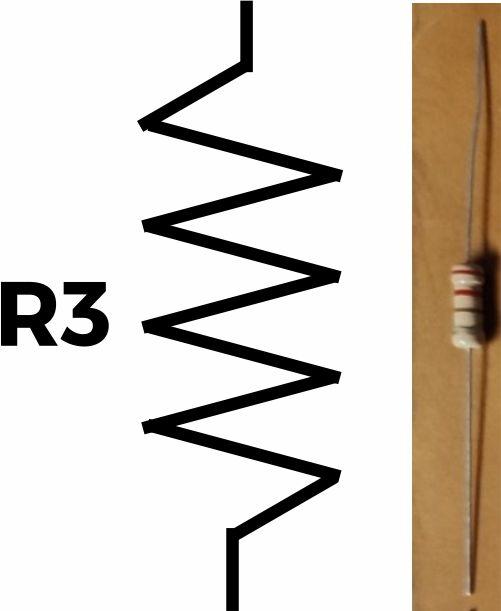 Resistor (R3) 220 ohm