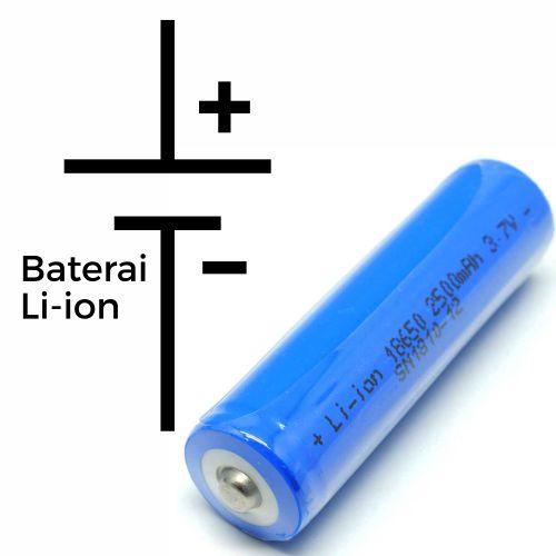 Baterai lampu emergency