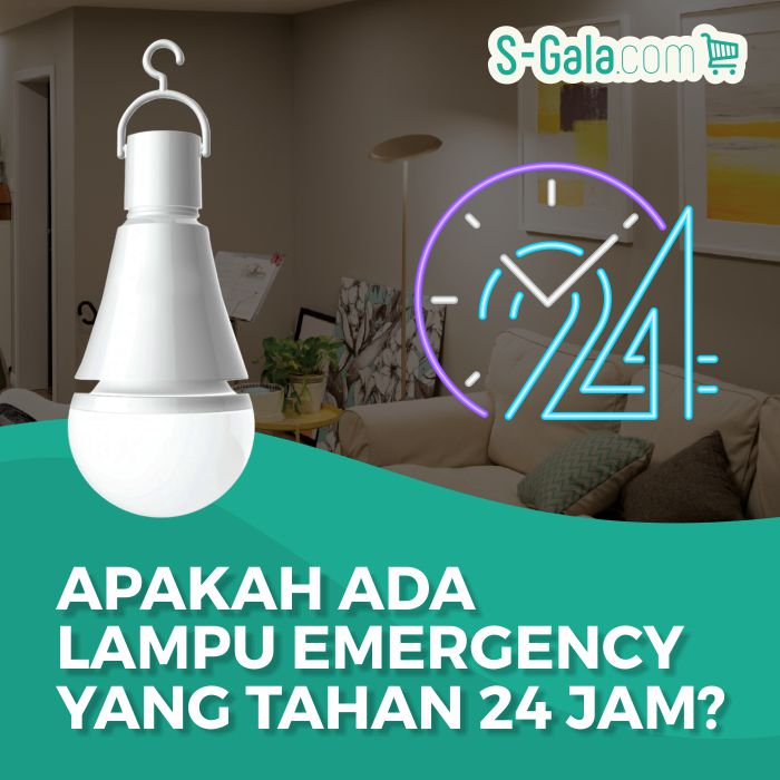Lampu Emergency 24 Jam