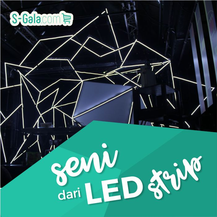 LED Strip Light Art
